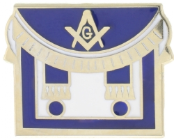 Masonic Apron Lapel Pin Model # 357744