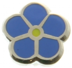 Forget-me-not Lapel Pin (Silver Tone) Model # 357745