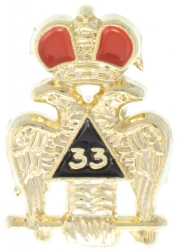 Scottish Rite Lapel Pin Model # 357752