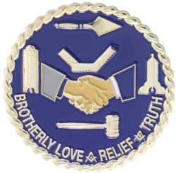 Brotherly Love, Relief and Truth Pin Model # 357776