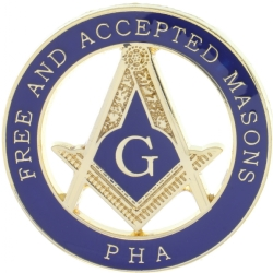 PHA FAM Masonic Pin Model # 357786