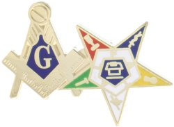 Blue Lodge OES Combo Pin Model # 357805
