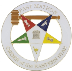 Past Matron Cut Out Emblem Model # 357869