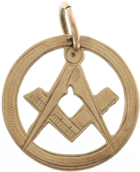 9k Masonic Pendant from Chester Model # 357924
