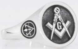 Design Your Own Custom Round Masonic Ring