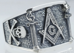 Design Your Own Custom Masonic Pillars Ring