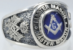 Design Your Own Subdued Symbol Masonic Ring