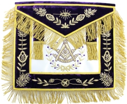 Purple Past Master Apron Model # 358019