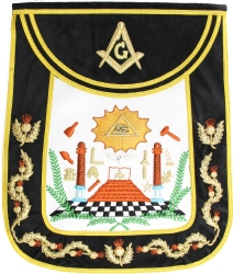 Traditional Style Master Mason Apron Model # 358219
