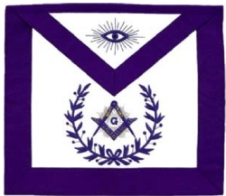 Purple Master Mason Apron Model # 358303