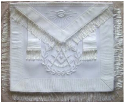 White Past Master Apron Model # 358318
