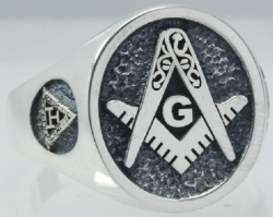 Design Your Own Custom Oval Masonic Ring