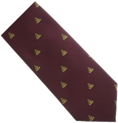 Maroon Past Master Tie Model # 358587
