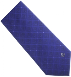Blue Silk Masonic Tie Model # 358590