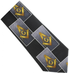 Black Square & Compass Box Tie Model # 358608