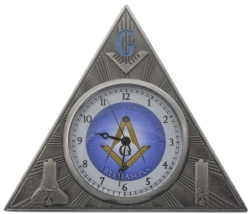 Masonic Desk Clock Model # 358628