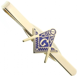Square and Compass Cutout Tie Bar Model # 358685
