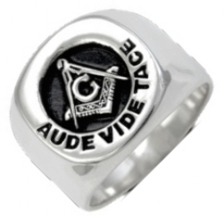 Aude Vide Tace Ring