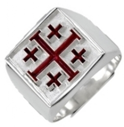 Knight Crusader of the Cross Ring