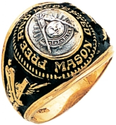 Class Style Past Master Ring