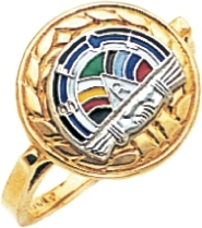Rainbow Girls Ring