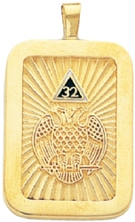 Scottish Rite 32nd Degree Pendant Model # 359031