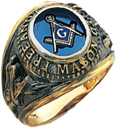 Free and Accepted Mason Ring