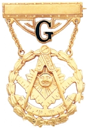 Past Master Jewel w/ G Model # 359410