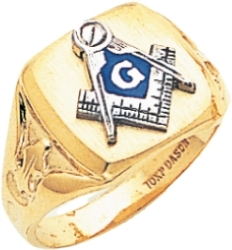 Blue Lodge Ring