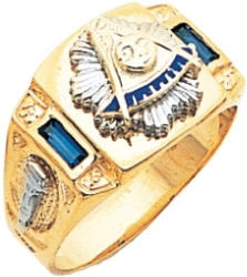 Custom Past Masters Side Jeweled Ring