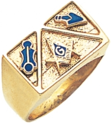Royal Style Masonic Ring