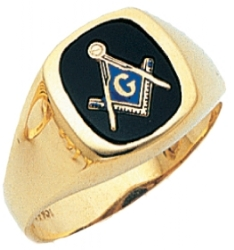 Classic Blue Lodge Ring