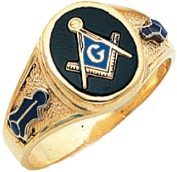 Classic Customizable Freemasons Ring