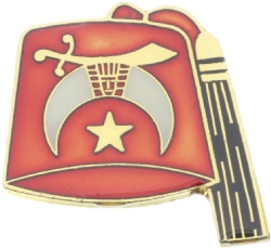 Shriners Fez Pin Model # 360948