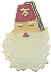 Santa Shriner Pin Model # 360951