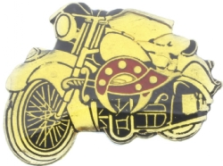 Motorcycle Shriners Pin Model # 360953