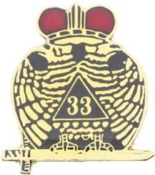 33rd Degree Pin Model # 360956