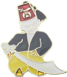Shriner Pin Model # 360958
