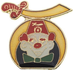 Shriners Clown Pin Model # 360959