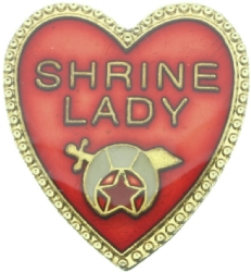 Shrine Lady Pin Model # 360961