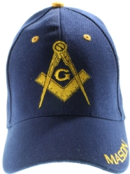 Blue Square & Compass Mason Hat Model # 361052