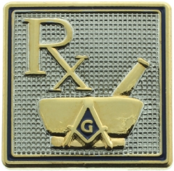 Rx Masonic Pin Model # 361056