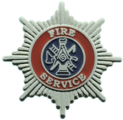UK Fire Service Masonic Pin Model # 361057