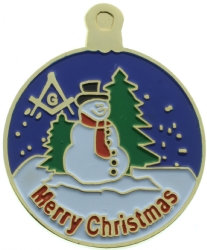 Masonic Merry Christmas Pin Model # 361065