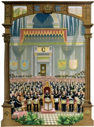 Grand Lodge in Session Print Model # 361099