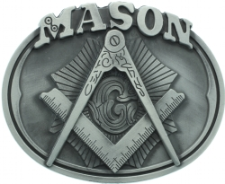 Masonic Belt Buckle Model # 361108