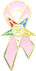 OES Pink Ribbon Pin Model # 361113