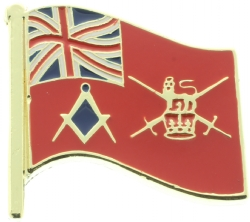UK Army Mason Pin Model # 361129