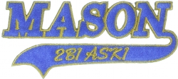 MASON 2B1 ASK1 Patch 2 1/2 Inch