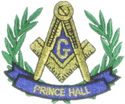 Prince Hall Wreath 2 1/4 Inch